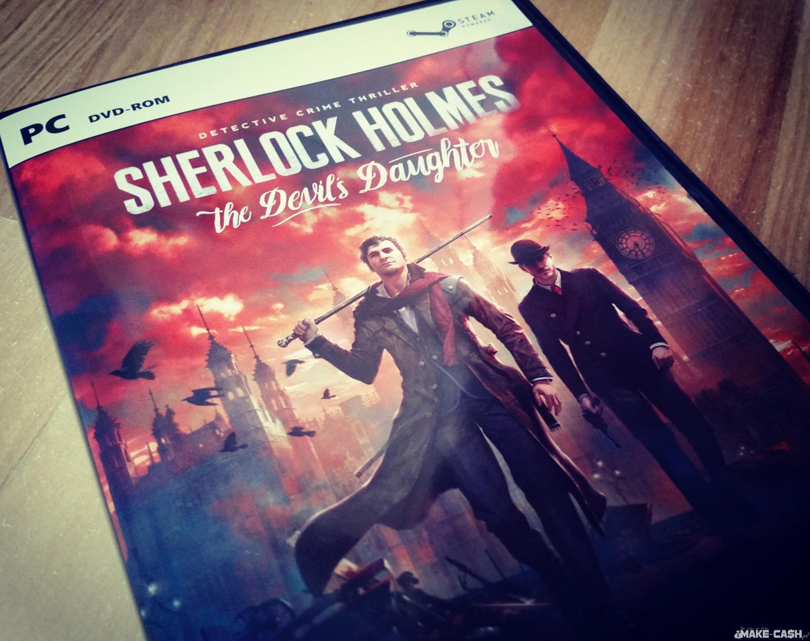 Sherlock Holmes The Devil's Daughter Preorder