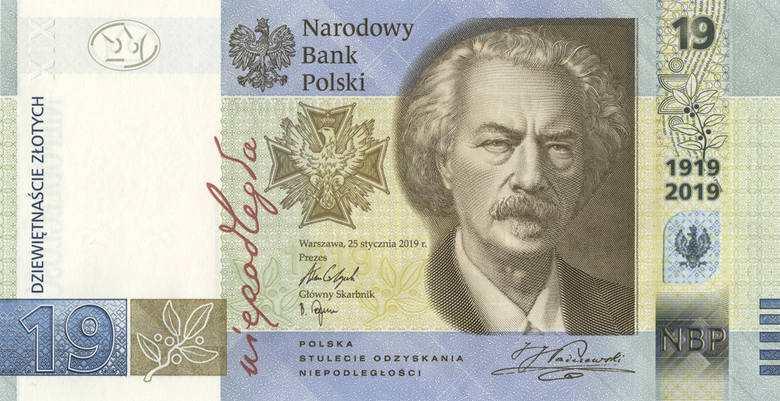 NBP. Od 2 października będzie nowy polski banknot o nominale 19 złotych