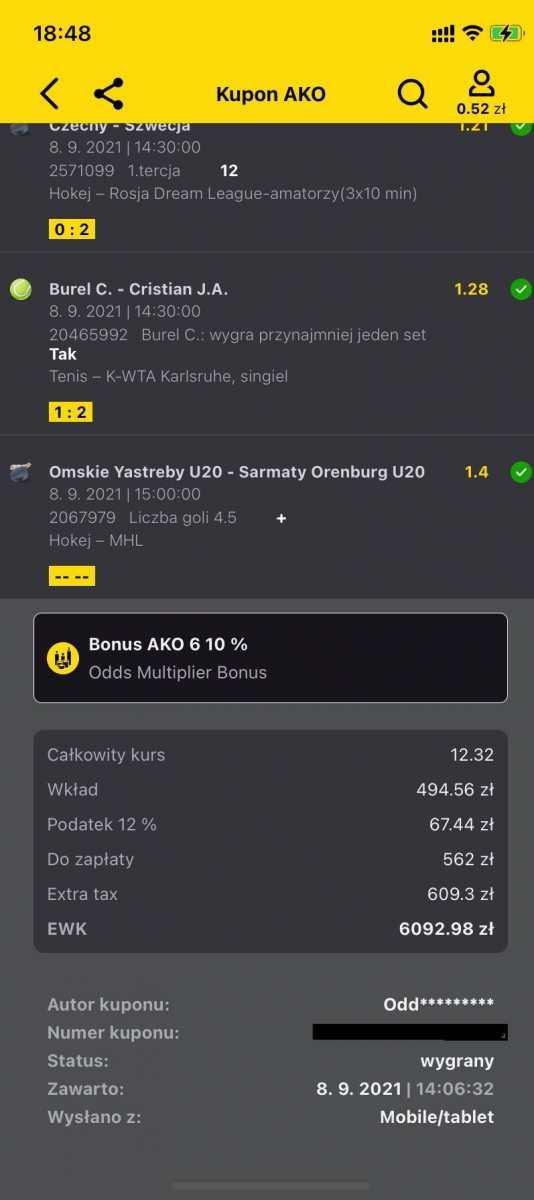 Bukmacherka - 5 tysięcy